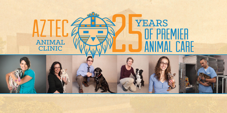 Aztec Animal Clinic 25th Anniversary
